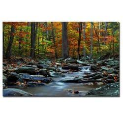 CATeyes 'Hymn an Autumn' Canvas Art