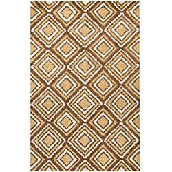 Artist's Loom Hand-woven Shag Rug - 7'9 x 10'6 - Thumbnail 0