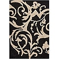 "Artist's Loom Hand-woven Shag Rug - 5' x 7'6"""