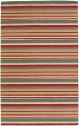 Hand-tufted Mandara  New Zealand Wool Rug (2' x 3') - Thumbnail 1