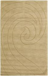 Artist's Loom Hand-tufted Contemporary Geometric Wool Rug (2'x3') - Thumbnail 1