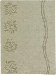 Artist's Loom Hand-tufted Transitional Floral Wool Rug (2'x3') - Thumbnail 1