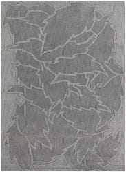 Artist's Loom Hand-tufted Transitional Floral Wool Rug (7'x10') - Thumbnail 1