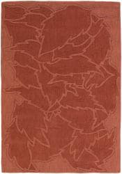 Artist's Loom Hand-tufted Transitional Floral Wool Rug (9'x13') - Thumbnail 1
