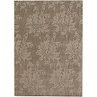 Artist's Loom Hand-tufted Transitional Floral Wool Rug - 2'x3'