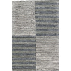 Artist's Loom Hand-tufted Contemporary Geometric Wool Rug - 9' x 13' - Thumbnail 0