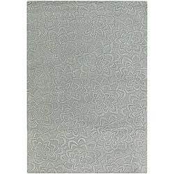 Artist's Loom Hand-tufted Transitional Floral Wool Rug (9'x13') - 9'x13' - Thumbnail 0