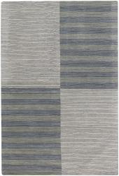 Artist's Loom Hand-tufted Contemporary Geometric Wool Rug (2'x3') - Thumbnail 2