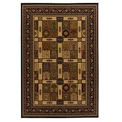 Artist's Loom Indoor Traditional Oriental Rug (8' x 11')