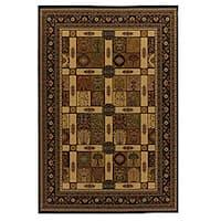 Artist's Loom Indoor Traditional Oriental Rug - 8' x 11'