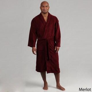 Majestic Men's Cozy Fleece Robe