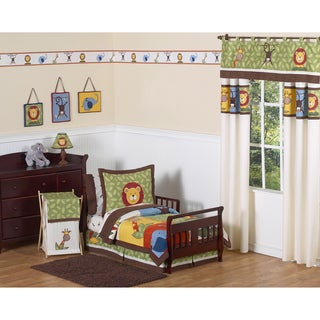 Jungle Time 5-piece Toddler Bedding Set