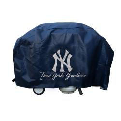 Rico New York Yankees Deluxe 68-inch Vinyl Weatherproof Grill Cover - Thumbnail 0
