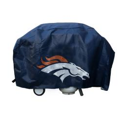 Denver Broncos Deluxe Grill Cover - Thumbnail 1