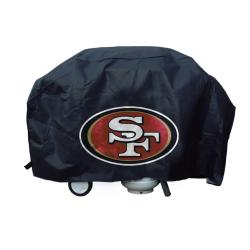 San Francisco 49ers Deluxe Grill Cover - Thumbnail 1
