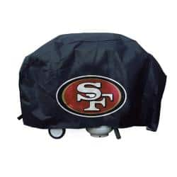 San Francisco 49ers Deluxe Grill Cover|https://ak1.ostkcdn.com/images/products/5729115/74/45/San-Francisco-49ers-Deluxe-Grill-Cover-P13463533.jpg?impolicy=medium