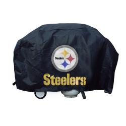 Rico Pittsburgh Steelers Weatherproof Deluxe Vinyl/Felt Grill Cover