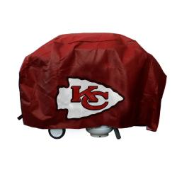 Kansas City Chiefs Deluxe Grill Cover - Thumbnail 2