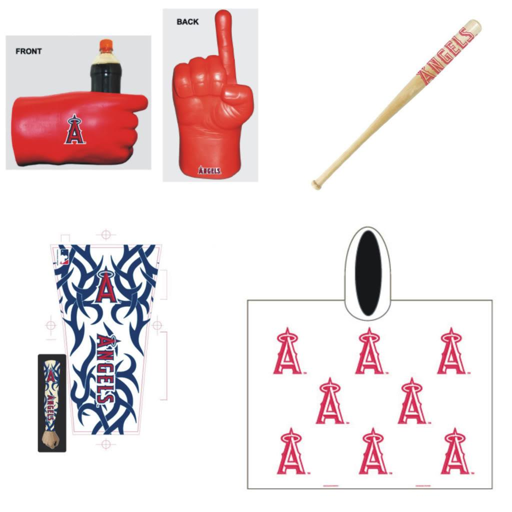 Anaheim Angels MLB Gameday Fanpack - Thumbnail 0
