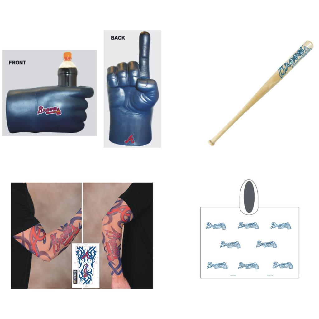Atlanta Braves MLB Gameday Fanpack