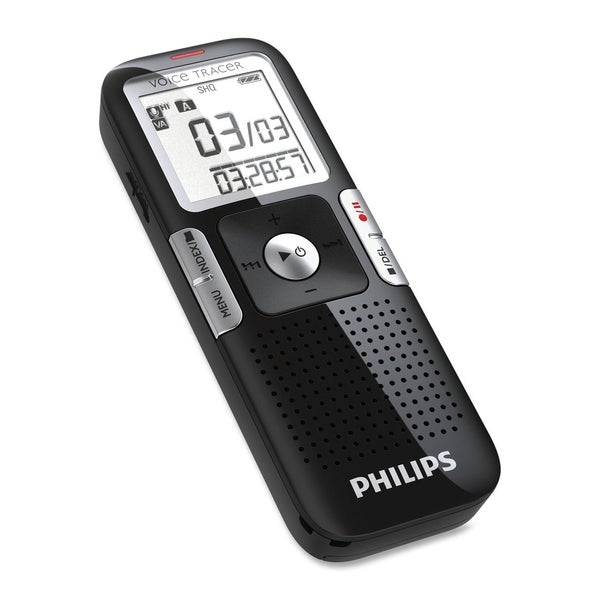 Philips Voice Tracer LFH0645 4GB Digital Voice Recorder