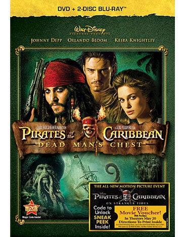Pirates of the Caribbean: Dead Man's Chest (Blu-ray/DVD)