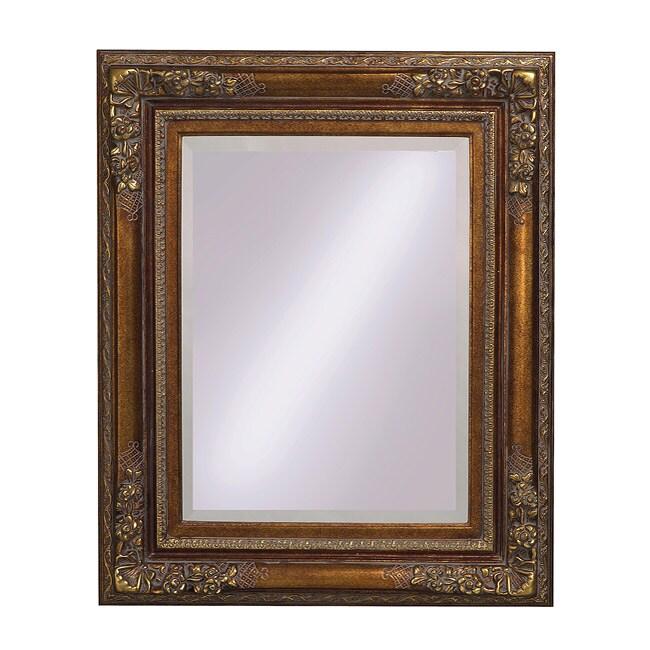 Scottland Antique Bronze Mirror Free Shipping Today 13464363