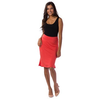 AtoZ Women's Bell Skirt