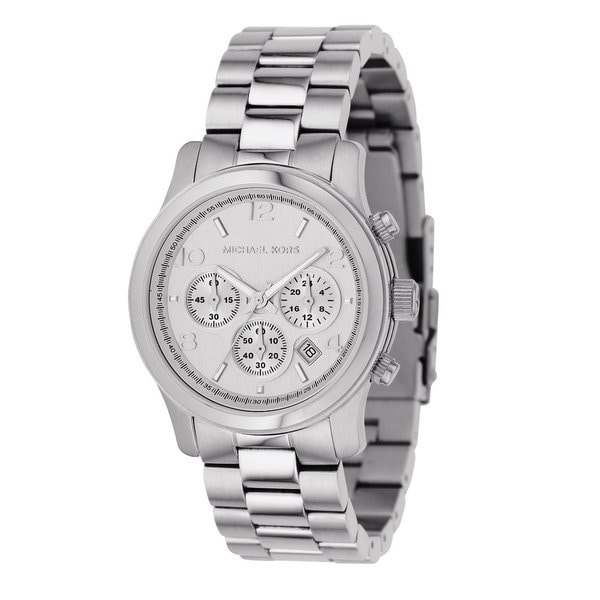 41135c7f7997 Michael Kors Women  x27 s MK5076 Classic Stainless Steel Silver Chronograph  Watch. Click to Zoom