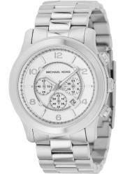 Michael Kors Men's MK8086 Runway Stainless Steel Silver Chronograph Watch