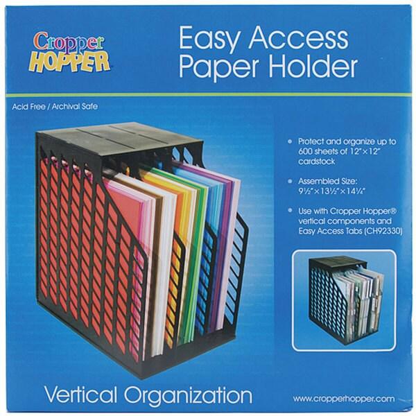Cropper Hopper Black Paper Holder