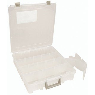 ArtBin Clear 12-compartment Super Satchel