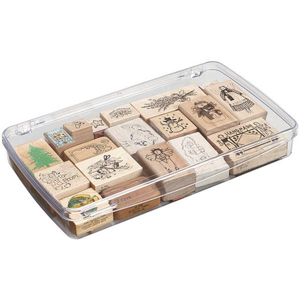 ArtBin  6-Compartment Prism Box Clear Art// Craft Supply Storage Container 1106AB
