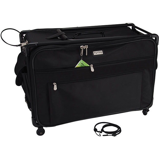 TUTTO Machine On Wheels Black Case (Tutto Machine On Whee...