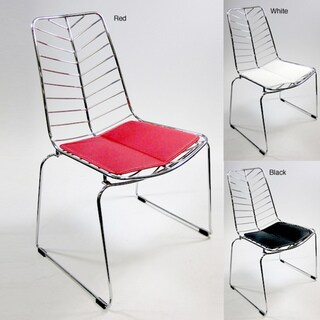 Wire Leaf Dining Chairs (Set of 2)