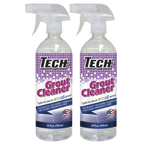 Tech 32-ounce Non-acidic Odorless Grout Cleaner (Pack of Two)
