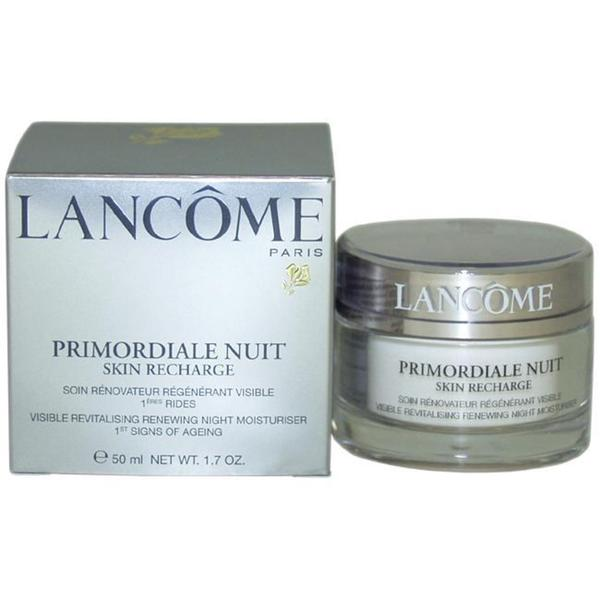 Lancome Primordiale Nuit Skin Recharge Visible Smoothing Renewing Night Moisturiser 50-ml Cream ...