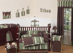 Sweet Jojo Designs Ethan 9-piece Crib Bedding Set