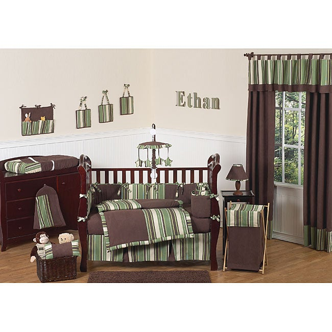 Sweet Jojo Designs Ethan 9 Piece Crib Bedding Set Free