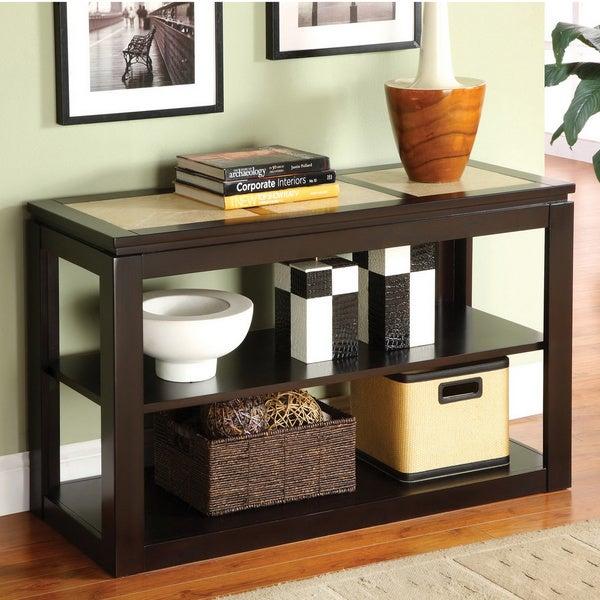 Furniture of America Fiona Modern Sofa Table