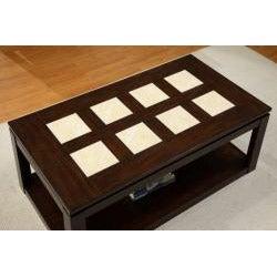 Furniture of America Fiona Modern Rectangular Coffee Table