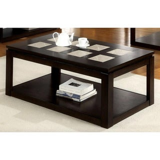 Furniture of America Fiona Modern Rectangular Coffee Table