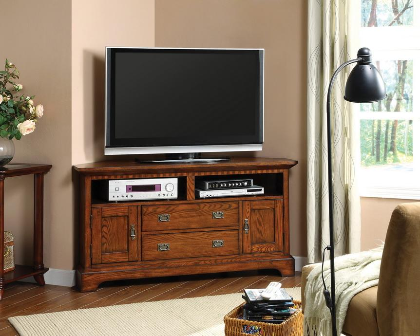 Furniture Of America Bettina Dark Oak Tv Cabinet Free