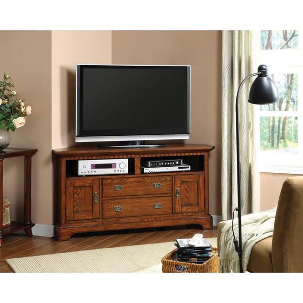 Shop Furniture Of America Bettina Dark Oak TV Cabinet