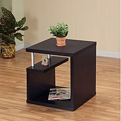 Bushwick Willoughby Modern Leveled End Table - Thumbnail 1