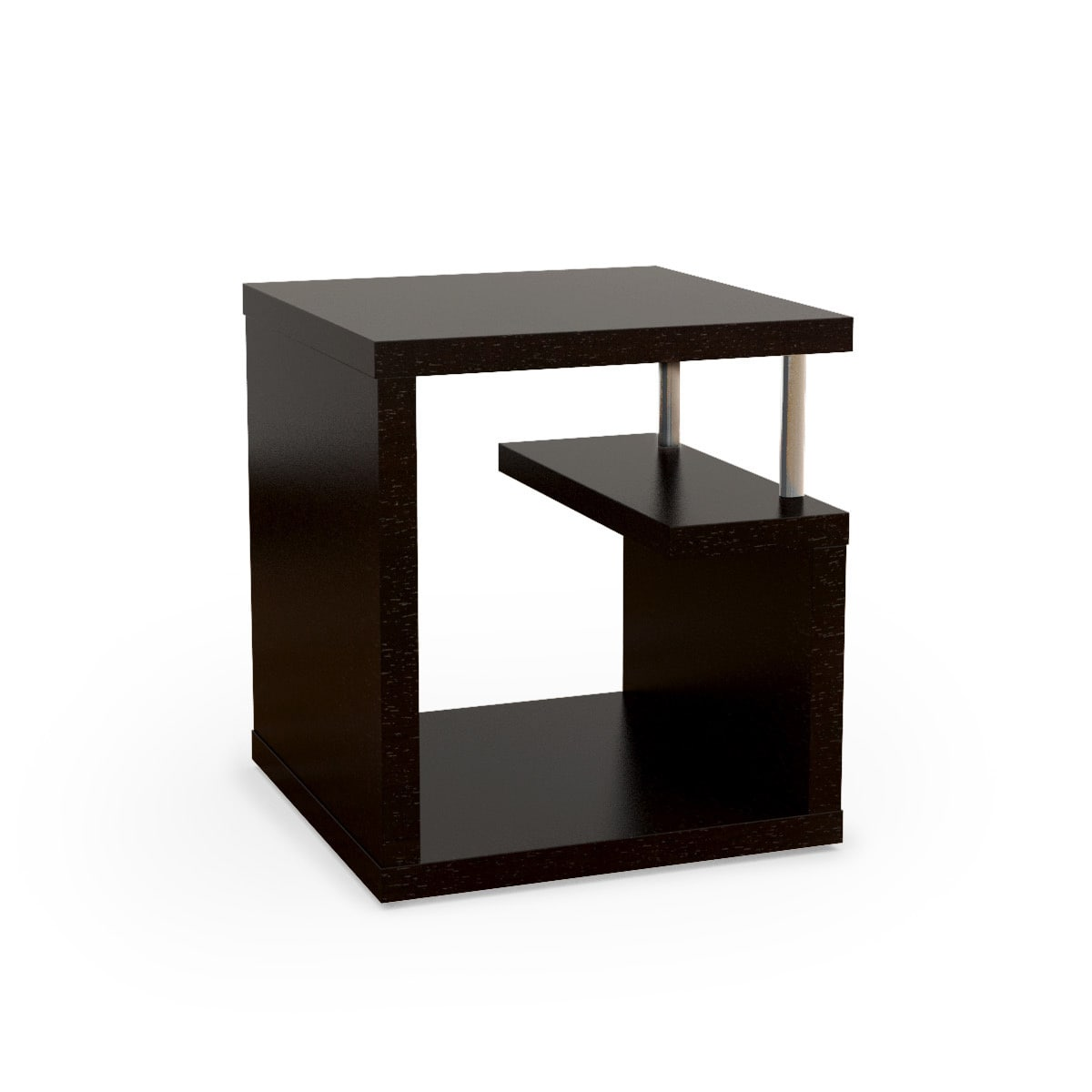 Bushwick Willoughby Modern Leveled End Table