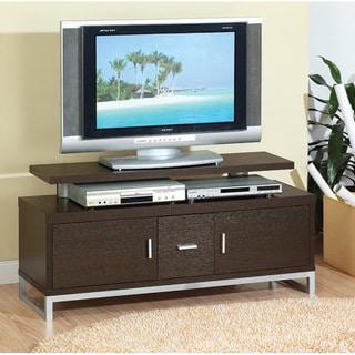 Furniture of America Grande Red Cocoa 48-inch TV Cabinet
