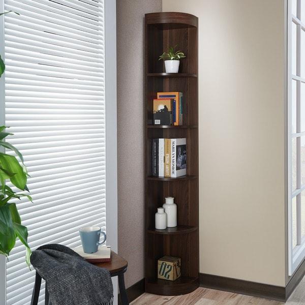 Furniture of America Corner 5-shelf Display Stand - Free Shipping Today -  Overstock.com - 13469195