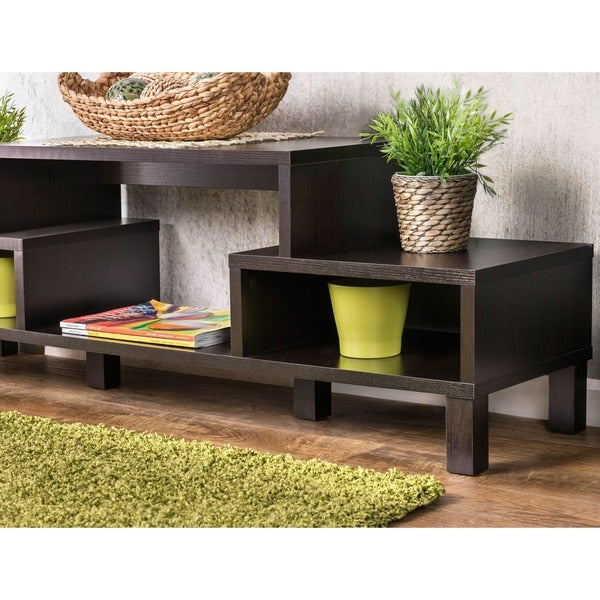 Furniture Of America Baltimore 60 Inch TV Console   Free Shipping Today    Overstock.com   13469198