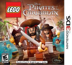 Nintendo 3DS - Lego Pirates of the Caribbean - By Disney Interactive